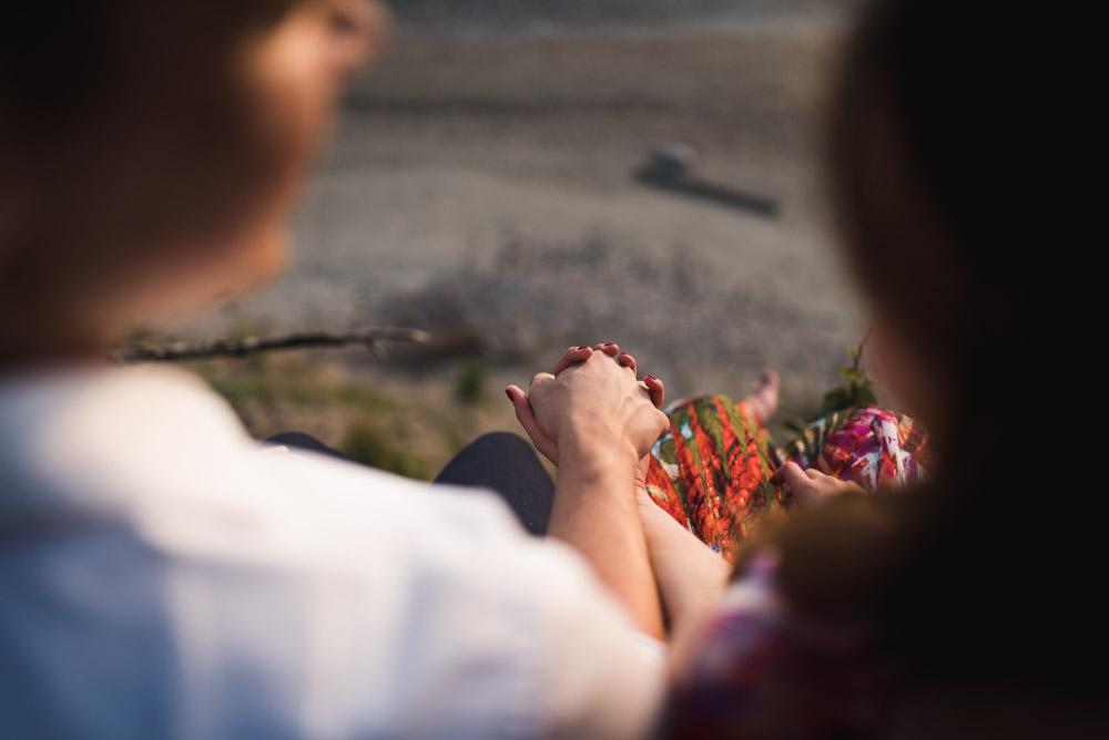 Poros priešvestuvinė fotosesija prie jūros