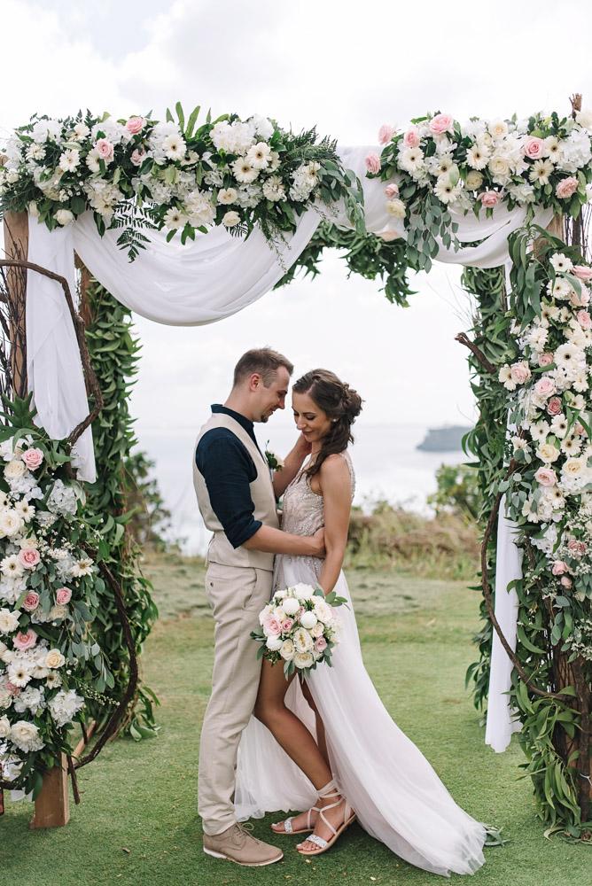 Vestuvių ceremonija Balyje