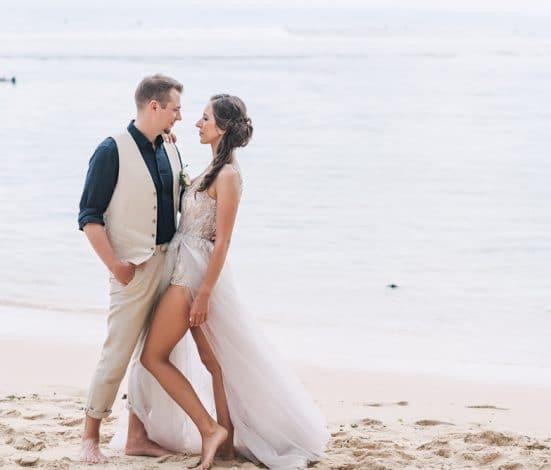 Vestuviu fotosesija Balyje