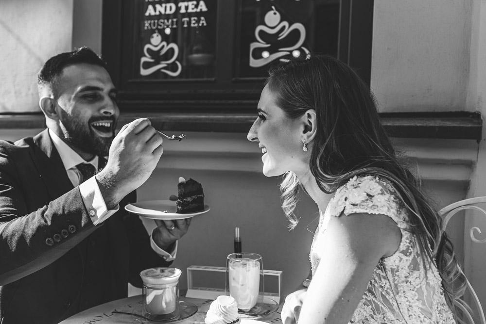 Vestuvių fotosesija Užupyje