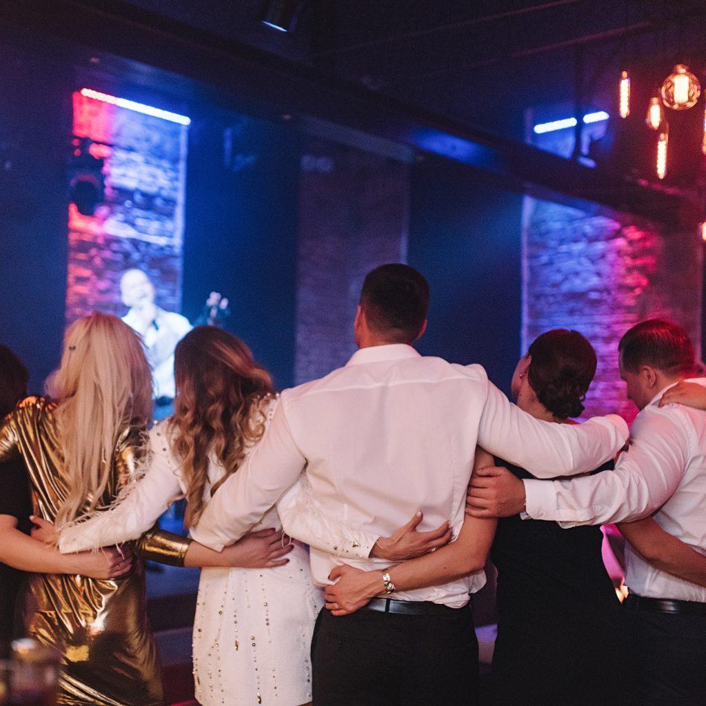Šokiai vestuvių metu