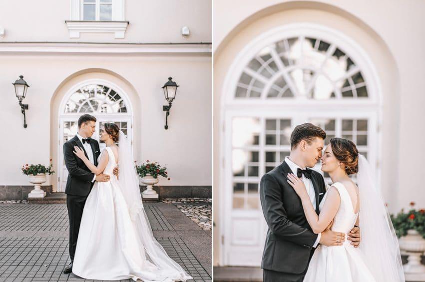 Fotosesijos vietos Vilniuje, nuotaka ir jaunikis prezidentūros kieme