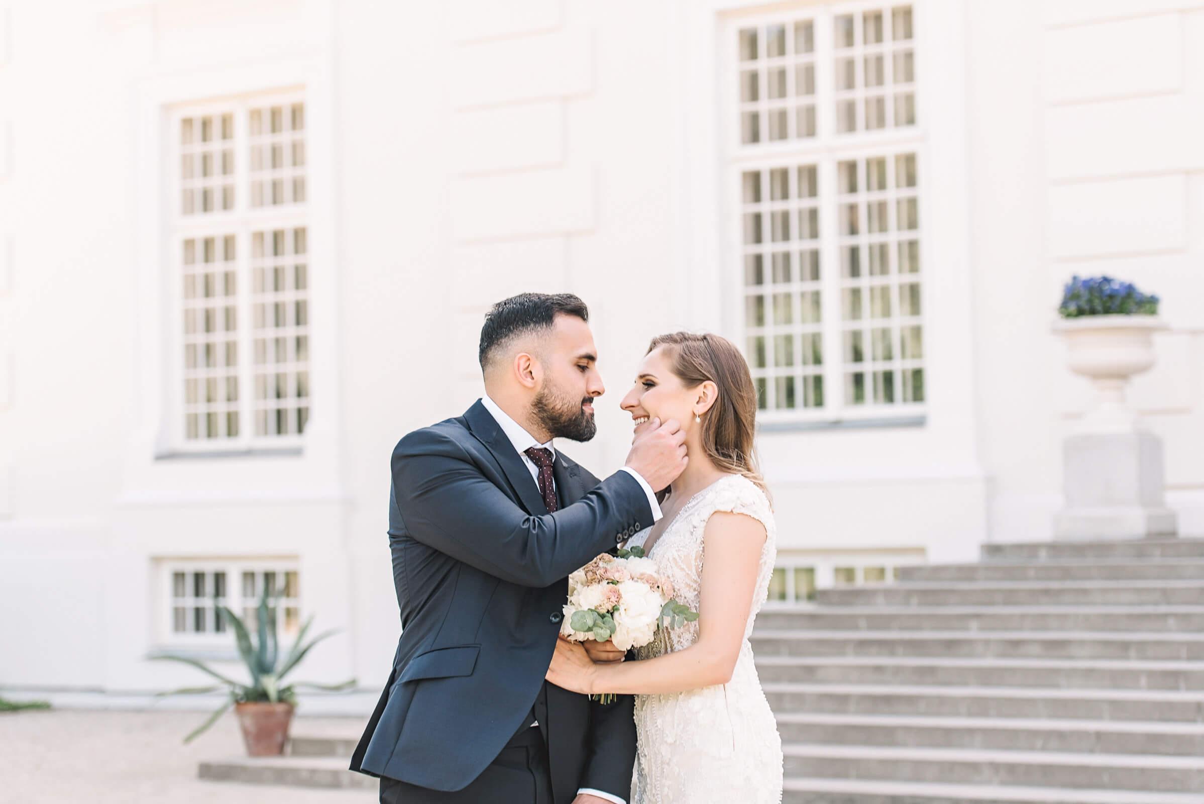 Vestuviu fotosesija Uzutrakio dvare