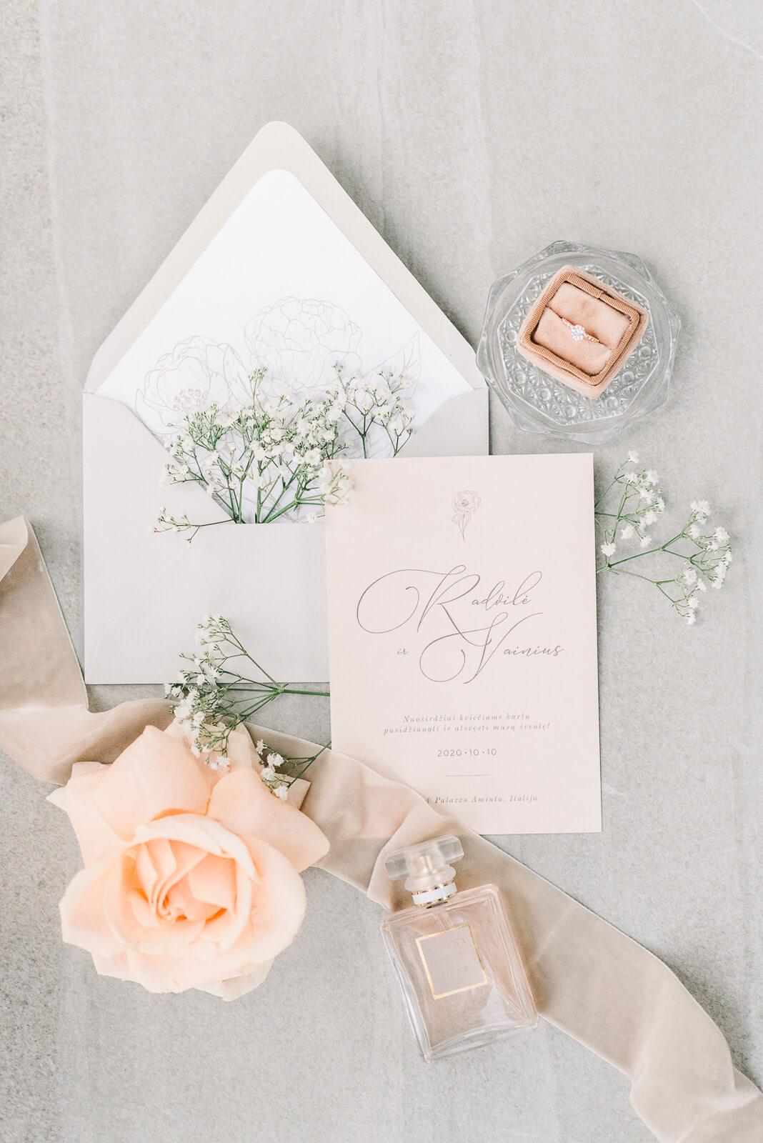 Vestuviu dekoro detales