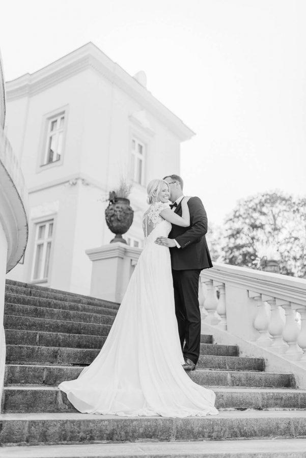 Vestuvių fotosesija Palangoje, Gintaro muziejuje